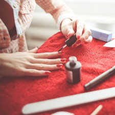 Prosecco beim Friseur Schloberg